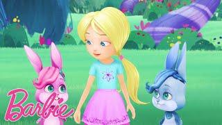 Barbie España   Los Regalos Mágicos del Bosque💚  Barbie Dreamtopia   Dibujos animados para niños 💖