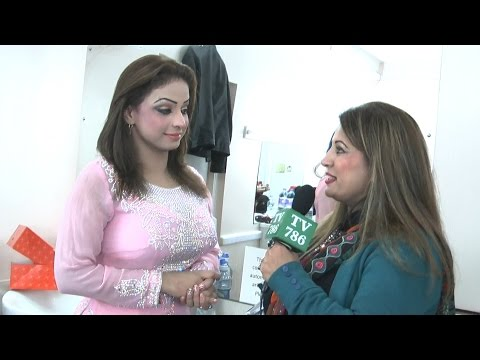 Pakistani Punjabi Stage Drama Dancer Nida Choudhry Interview video