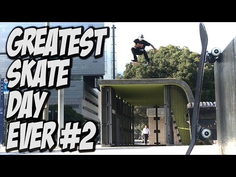 GREATEST SKATE DAY EVER Feat. VINNIE BANH & RICKY CHAVEZ - A DAY WITH NKA -