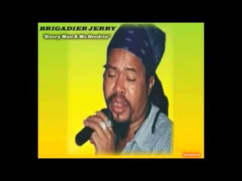 BRIGADIER JERRY--MEET THE LIVING LEGEND--THE NUMBER ONE CULTURE DJ
