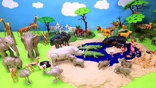 Playmobil Safari Wildlife Animals Toys For Kids
