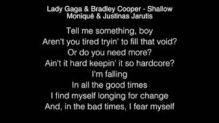 Lady Gaga & Bradley Cooper - Shallow Lyrics
