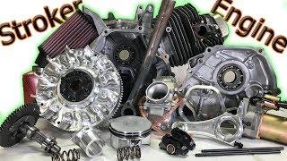 Stroker Engine Build: 30+ HP on a 65 MPH Mini Bike! (Complete Build)