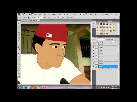 TUTORIAL PHOTOSHOP CARICATURA   Videos « PortaldeMisterios.CoM