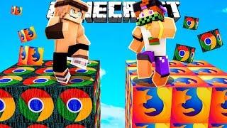 SFIDA CON I LUCKYBLOCK DEI PROGRAMMI! (Google Chrome) - Minecraft ITA