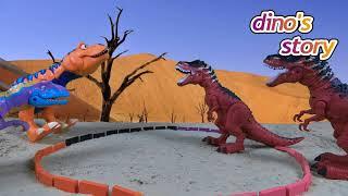 Dino's Adventures Story - Dinosaurs for Kids - Dinosaur Cartoon Shows | Dino's Story Ep 18