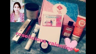 Blush box February month..roselicious valentines❤||@399