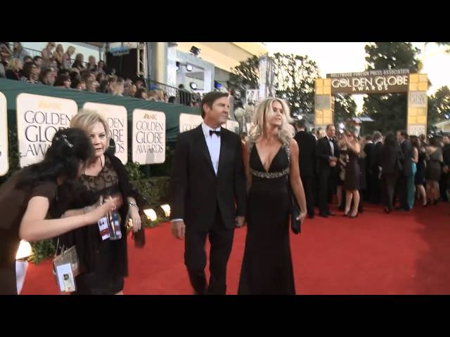 Golden Globes Red Carpet Interviews: Christina Aguilera, Dennis Quaid