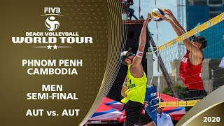 LIVE Men's SemiFinal 2 2 Phnom Penh CAM 2020 FIVB Beach Volleyball World Tour