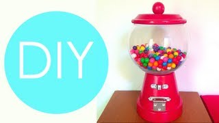 DIY- Maquina de chicles o dulces/ REGALO ORIGINAL