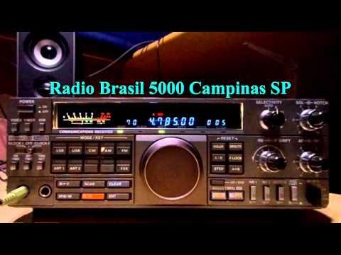 Radio Brasil 5000 - 4785 kHz