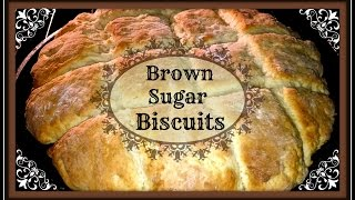 Brown Sugar Biscuits~