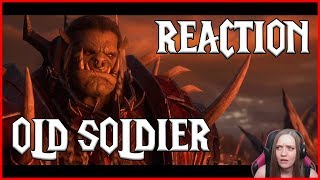 WoW Tearful Reaction: Old Soldier Cinematic! FOR THE HORDE!