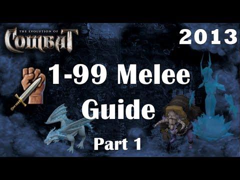 Level 1-99 Melee Guide Eoc   400k Exp/H+ Fastest Combat Training Runescape 2013   Part 1