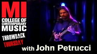 John Petrucci - Musicians Institute(MI)が1998.08.30に行われたギター・クリニック81分の映像を公開 thm Music info Clip