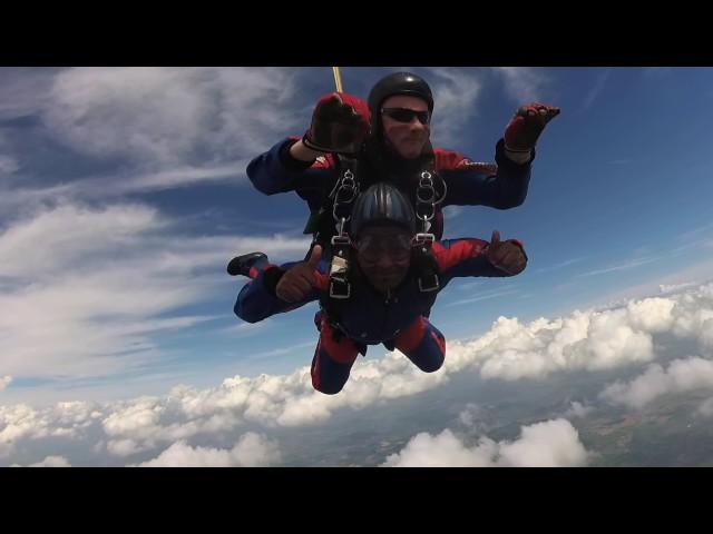Beniam Abrha's Charity Skydive for @grenfellsupport