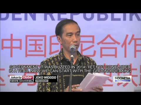 Jokowi Praises Indonesia-China Cooperation on Jakarta-Bandung Train Project