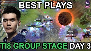 TI8 BEST PLAYS The International 2018 GROUP STAGE DAY 3 Highlights Dota 2 by Time 2 Dota #dota2