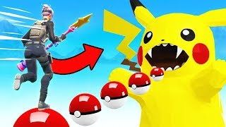CATCHING Pokemon IN FORTNITE *NEW* Game Mode in Fortnite Battle Royale