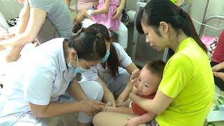 Hà Nội khuyến cáo tiêm phòng sởi cho trẻ nhỏ