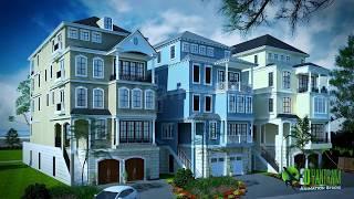 Home Exterior & Interior Architectural Walkthrough Presentation | Interactive Virtual Tours