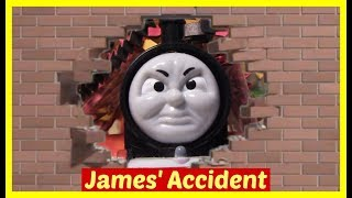 Thomas and Friends Accidents will Happen | Toy Train Videos | Thomas the Tank