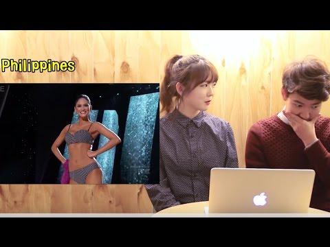 Download Lagu Koreans React to Miss Universe 2015    Pia Alonzo Wurtzbach   Miss Universe Philippines MP3 Free