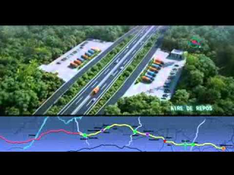 Vidéo de l'autoroute Douala-yaoundé