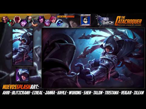 Noticias LOL | 11 Nuevos Splash Art | League of Legends