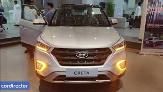 Hyundai Creta E Plus Petrol 2018 | Creta 2018 Base Model Accessories | Interior and Exterior-Review
