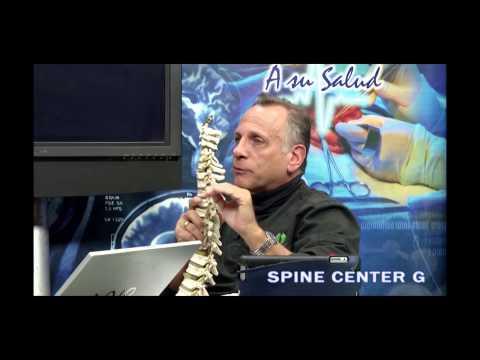 Whiplash o Síndrome del latigazo Dr  Cary en el programa A Su Salud 20. 01.15
