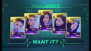 [SUPERSTAR JYPNATION] 있지 (ITZY) UPGRADE CARDS | WANT IT? THEME | From S To ROYAL | dlwlrma77