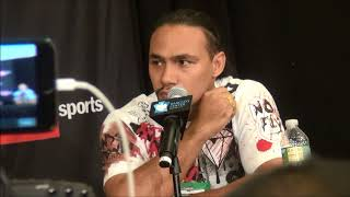Keith Thurman & Errol Spence Jr. Press conference