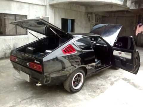 1978 Black Mitsubishi Celeste Youtube