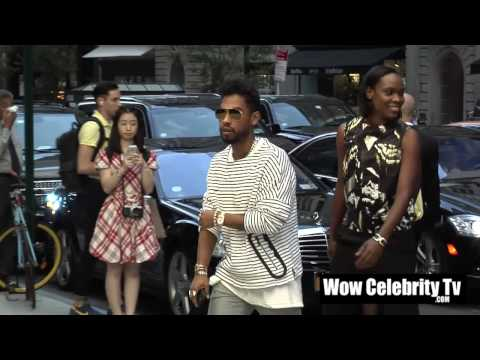 Miguel Spotted at New York Fashion week Event