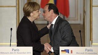 """Hollande: """"Türkiye ile Rusya arasındaki tansiyonun düşmesi için çalışmalıyız"""""""