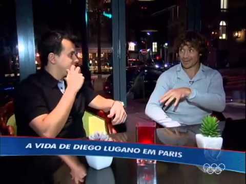 Conheça a vida do atleta Diego Lugano em Paris - Esporte Fantastico - Record