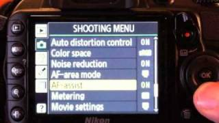 Optimum Camera Settings for NIKON