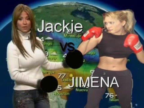 Jackie Vs Jimena ( Jackie la Diva de el Bronx )