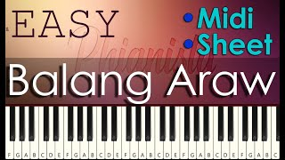 I Belong to the Zoo - Balang Araw Easy Piano Tutorial | With Piano Sheet and Midi Free Download