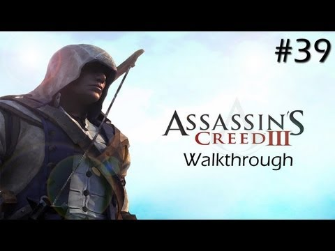 Assassin's Creed 3 Walkthrough: Part 39 Chasing Church (Sequence 9) XBOX Gameplay [Full Sync]