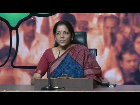 BJP Byte by Smt. Nirmala Sitharaman on Bomb blast at Chennai Central Station  - 1st May 2014