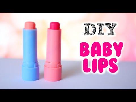 DIY Baby Lips | DIY Tinted lip balm (2 Ways)
