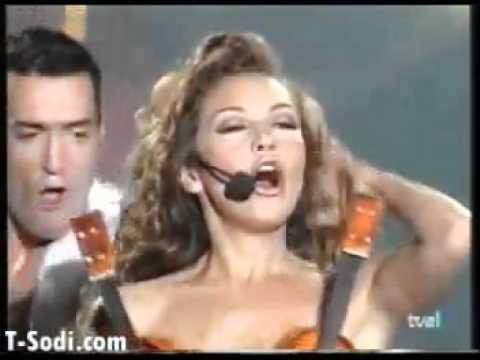 Thalia - Amor A La Mexicana.. En España video