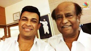 Sri lankan MP Ram Nayak makes a surprise meet with Rajini =