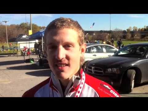 2011 Cross Nationals - Evan McNeely Interview - U23 National Champion!
