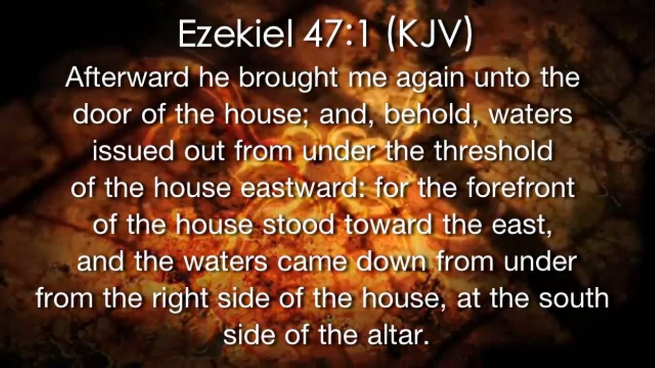 Ezekiel Bible Verses Ezekiel 47 1 Bible Verse