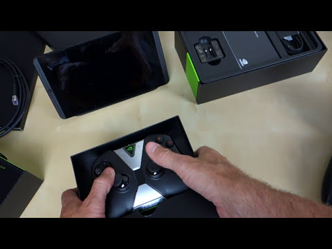 Nvidia SHIELD Tablet with SHIELD Wireless Controller Unboxing