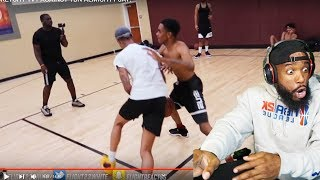FLIGHT REALLY GOT CHEATED AGAIN! 1vs1 BASKETBALL AGAINST A RAPPER!