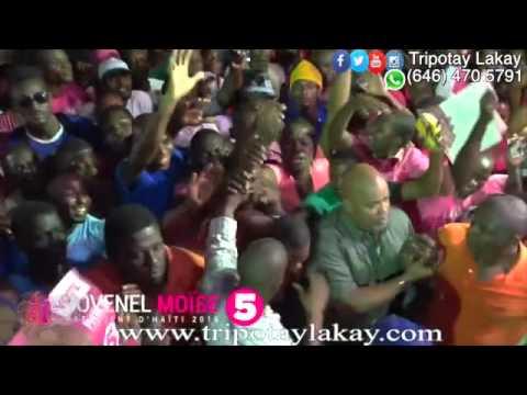 Jovenel Moise nan K-Fou Port-Au-Prince ak Ti Pay